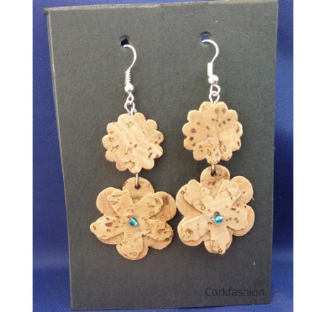 Earrings (LC-821 model) from the manufacturer Luisa Cork in category Corkfashion